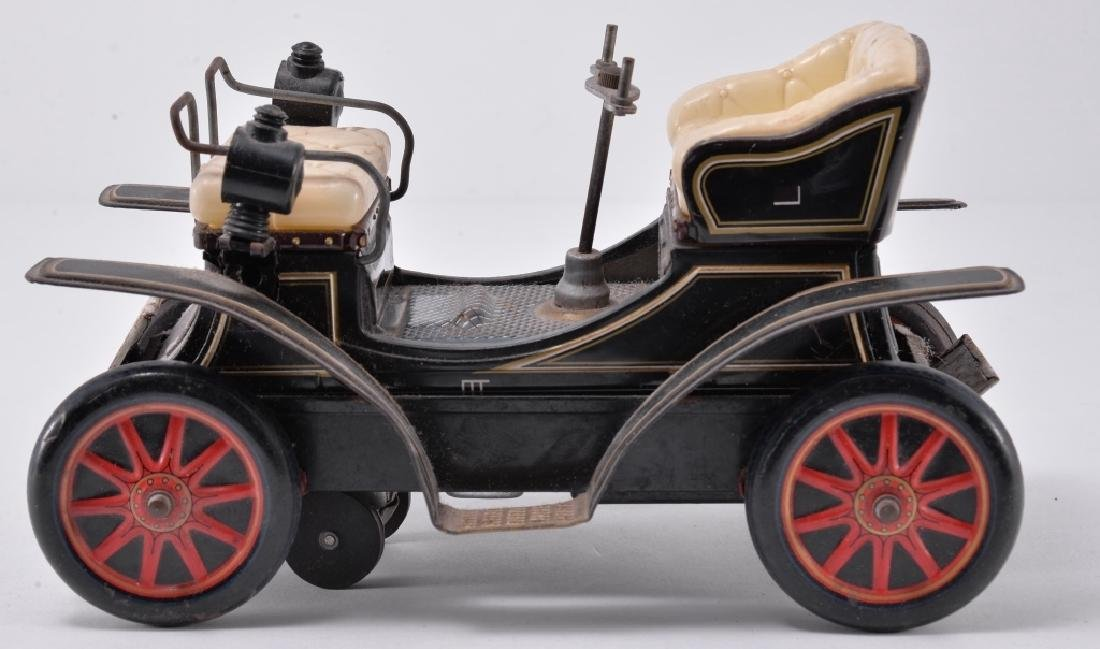 Vintage Battery Tin Car