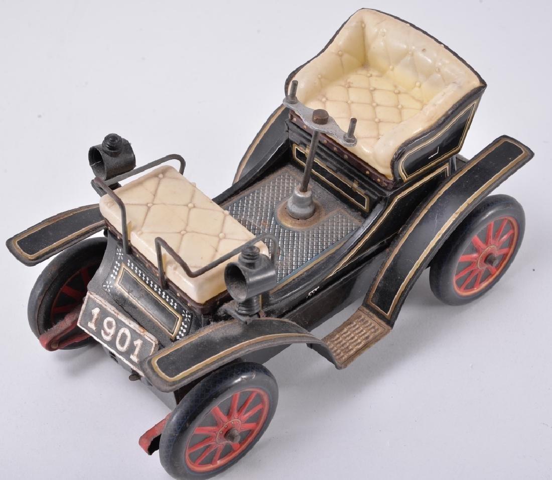 Vintage Battery Tin Car - 2