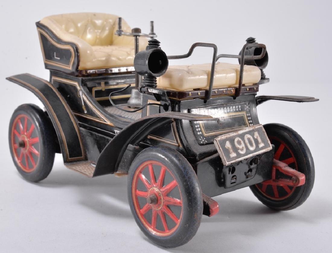 Vintage Battery Tin Car - 3