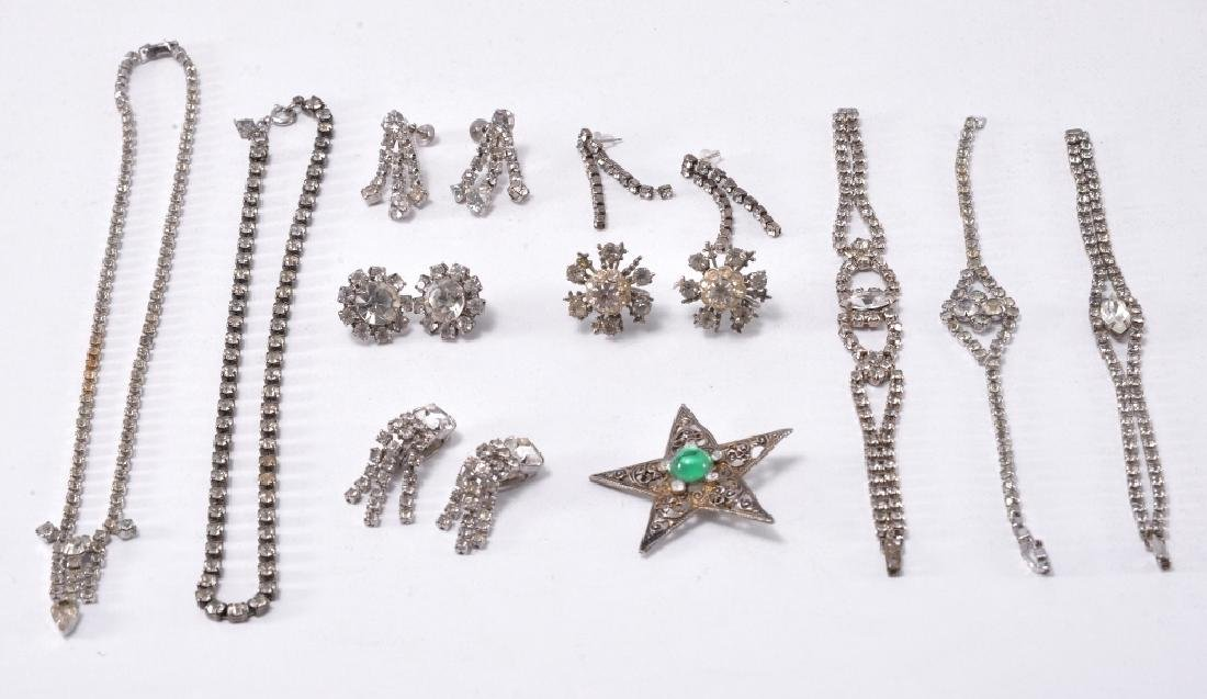 Rhinestone Estate Jewelry