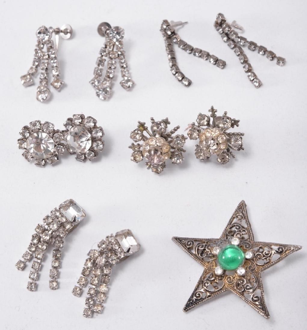 Rhinestone Estate Jewelry - 3
