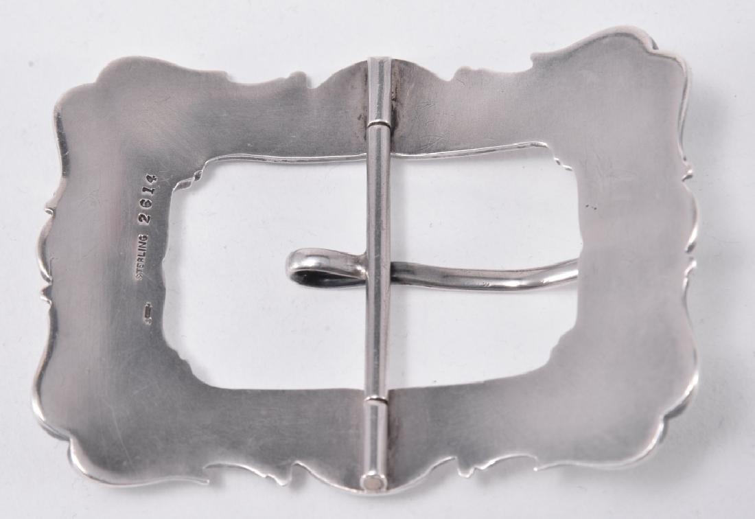 Sterling Belt Buckle - 2