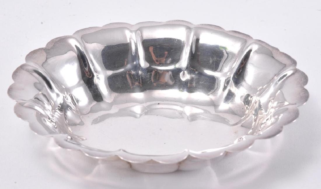 Sterling Oval Dish