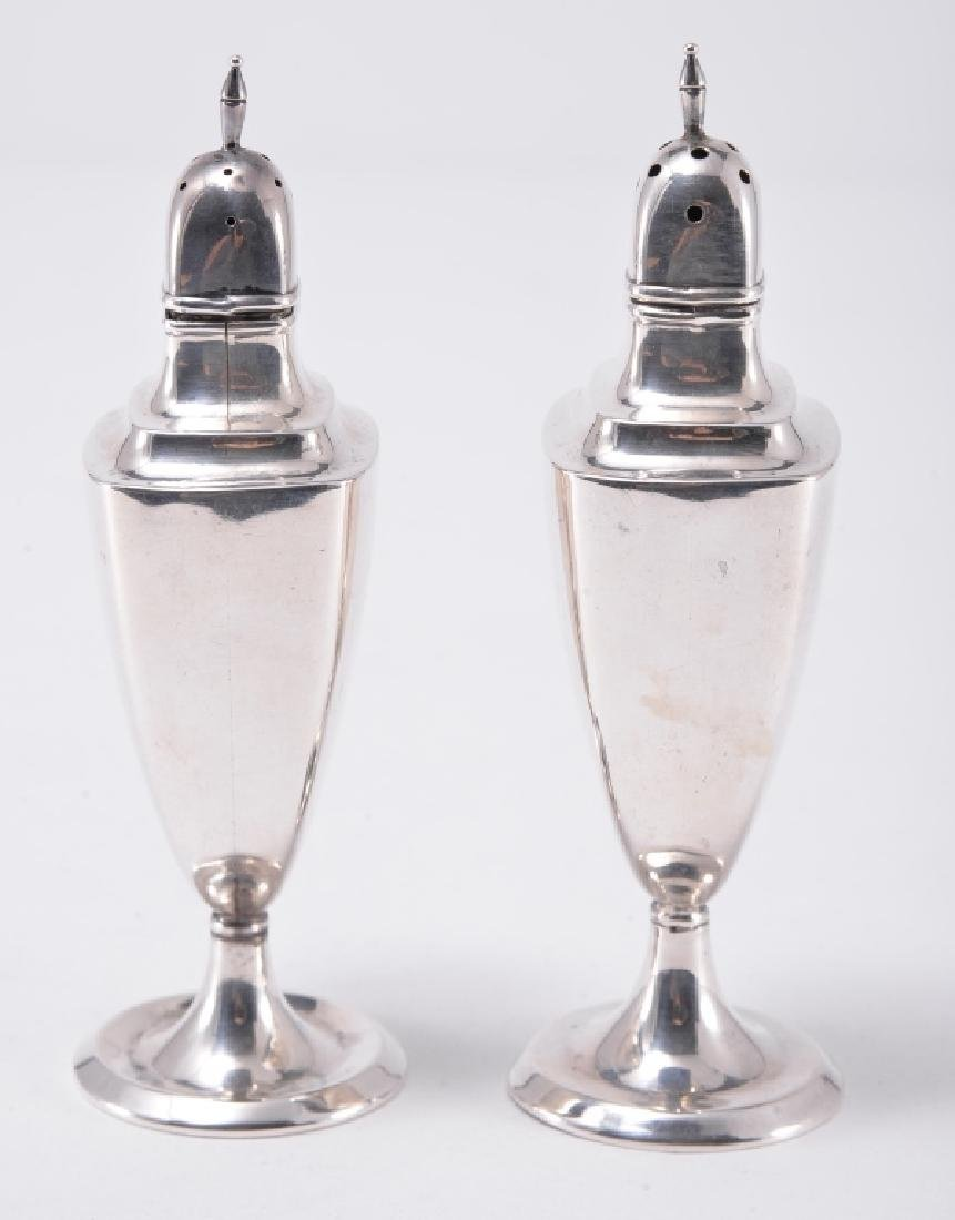 Pair Sterling Shakers