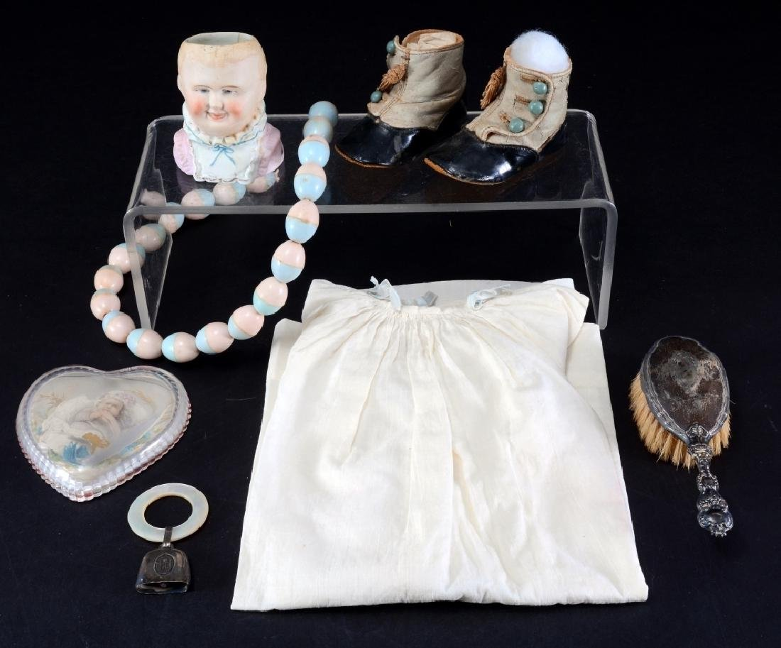 Baby Dress, Baby Shoes, Baby Brush & More