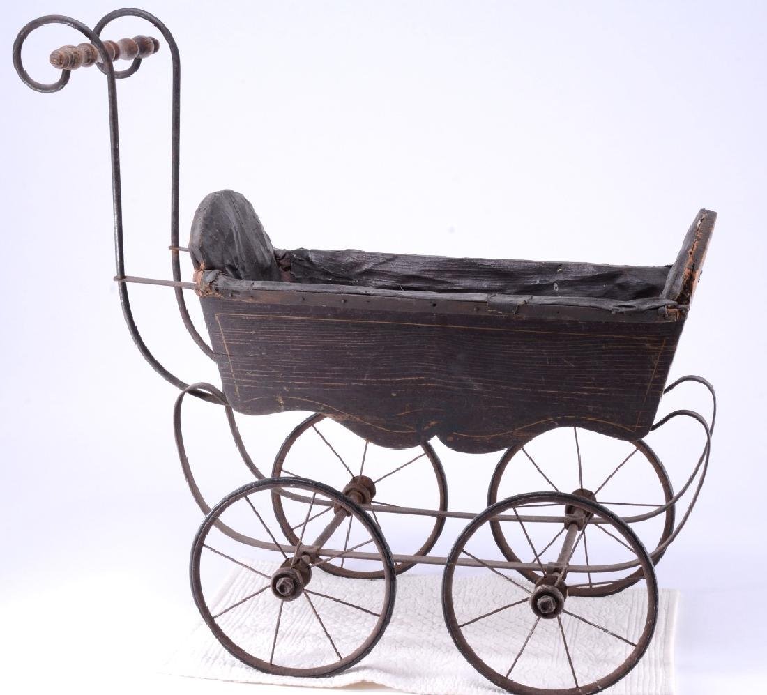 Antique Doll Buggy - 2