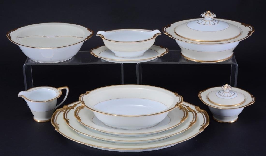 "11 Pcs. Noritake ""Reingold"" China Serving Set"