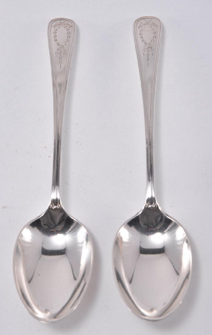 "6 Gorham ""Jefferson"" Sterling Spoons - 5"