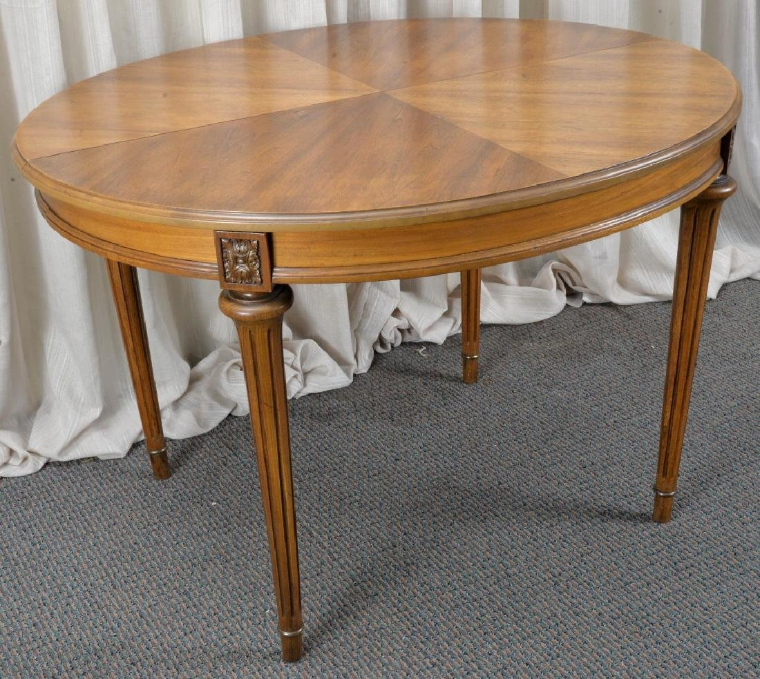 Oval Dining Table & 5 Chairs - 2