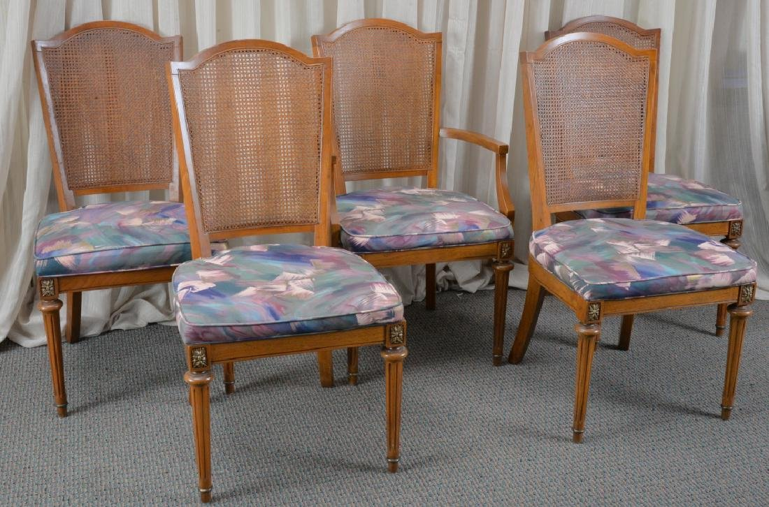 Oval Dining Table & 5 Chairs - 7