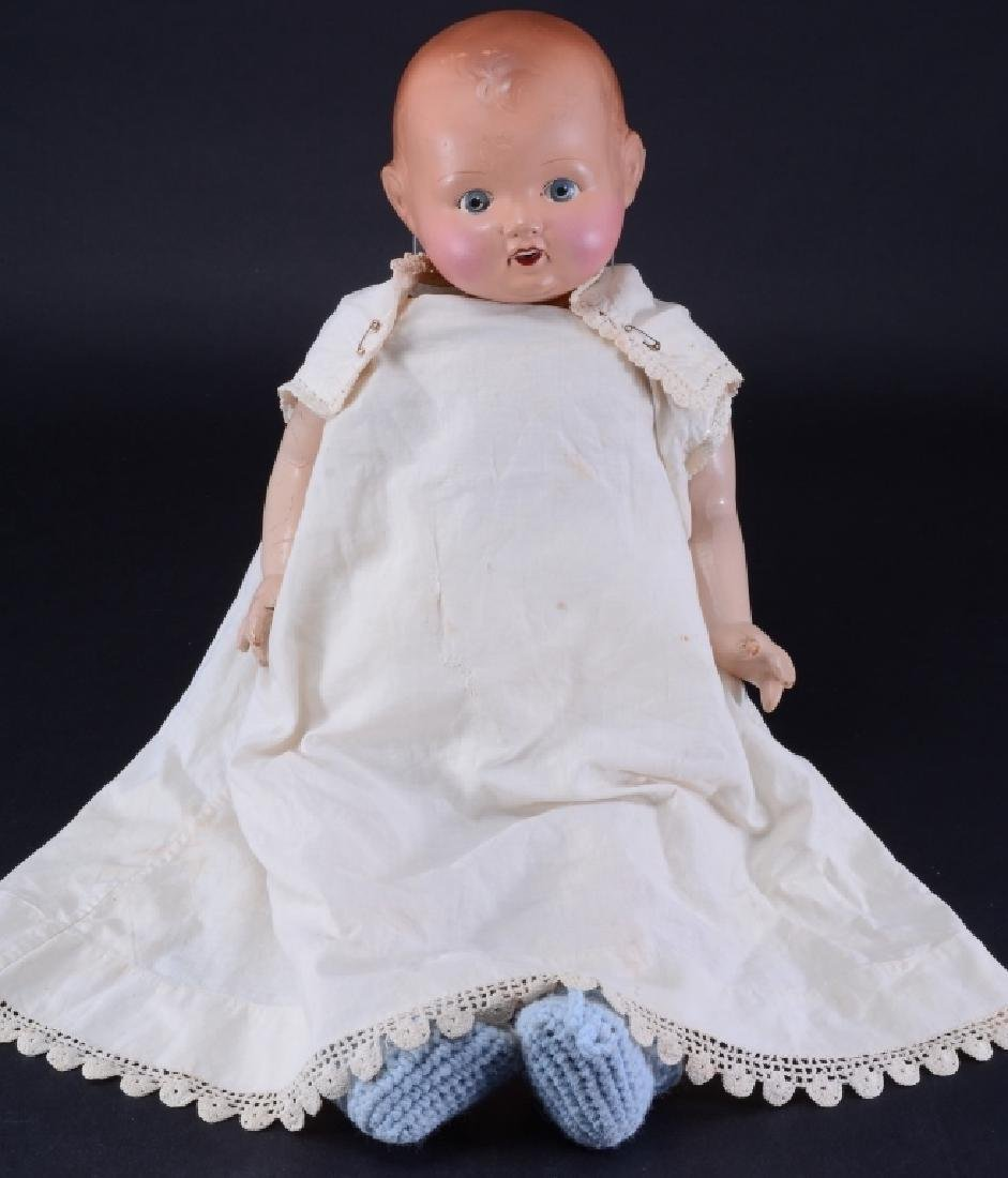 England 3 1/2 Marked Doll