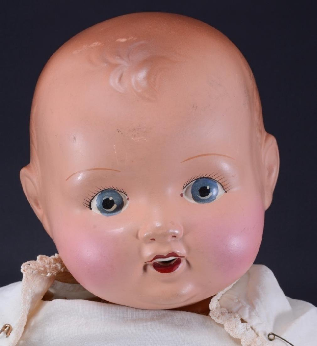 England 3 1/2 Marked Doll - 2