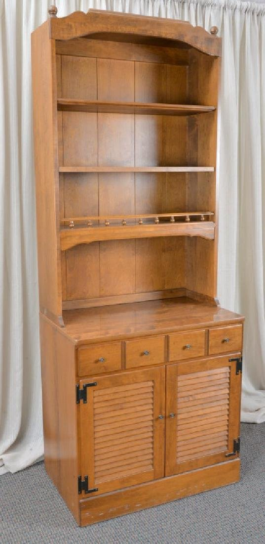 Ethan Allen Cabinet Hutch