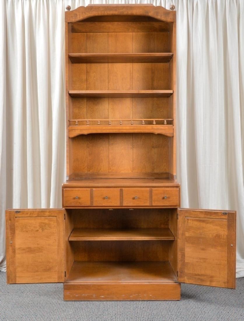 Ethan Allen Cabinet Hutch - 2