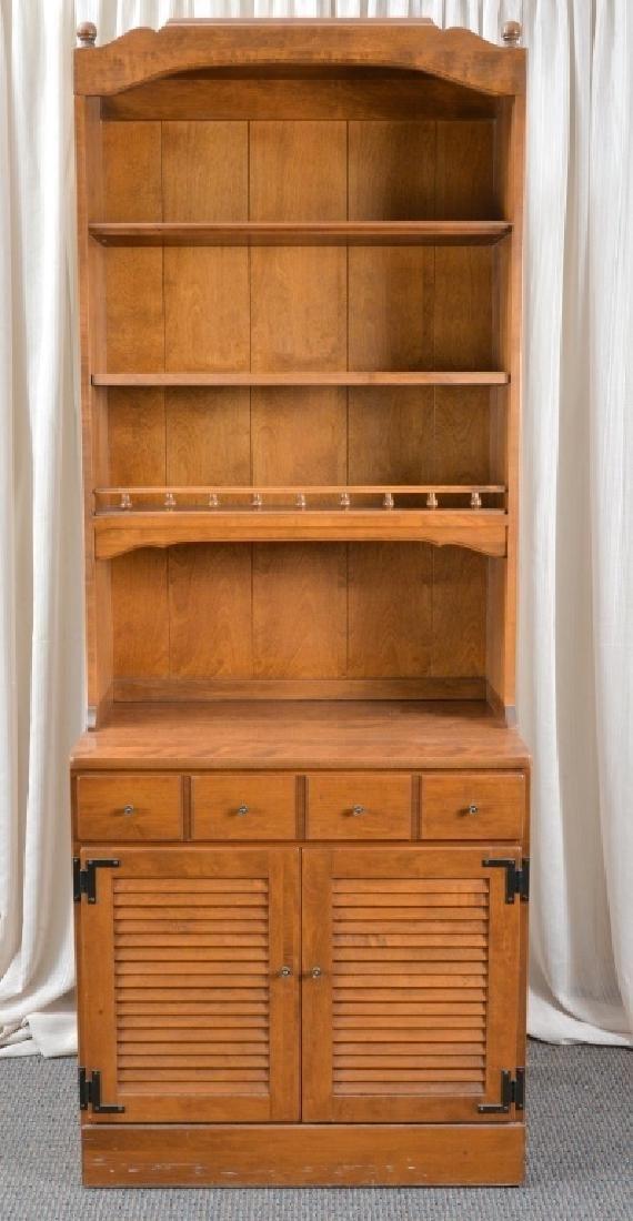 Ethan Allen Cabinet Hutch - 4