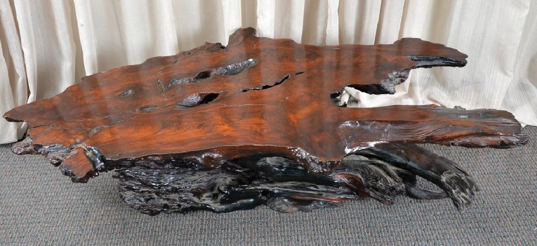Redwood Tree Free Form Coffee Table