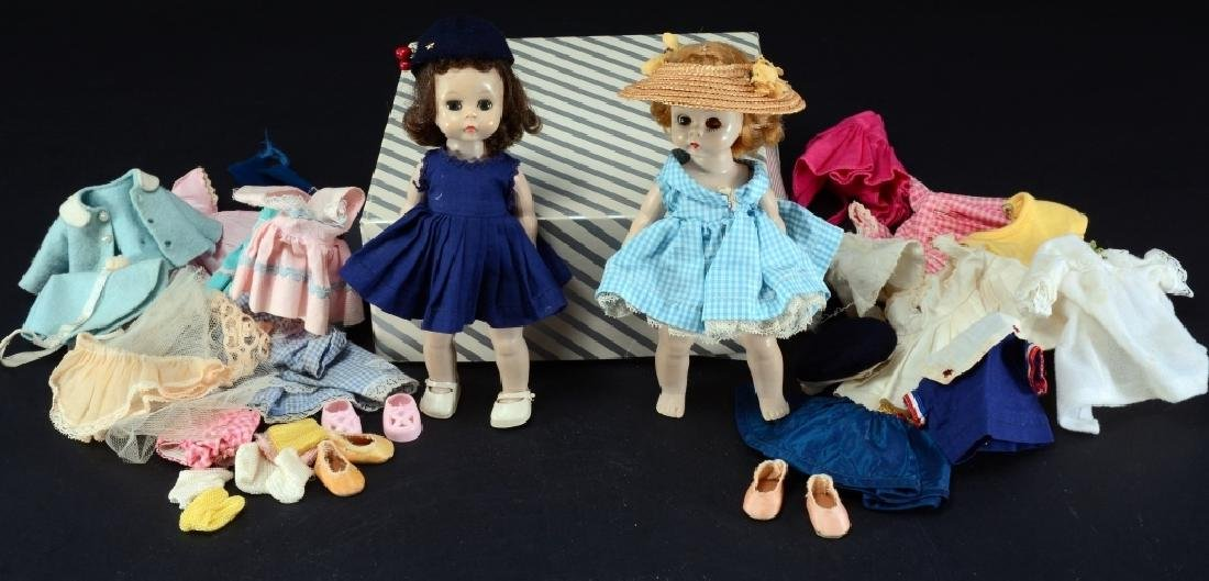 2 Dolls & Doll Clothes