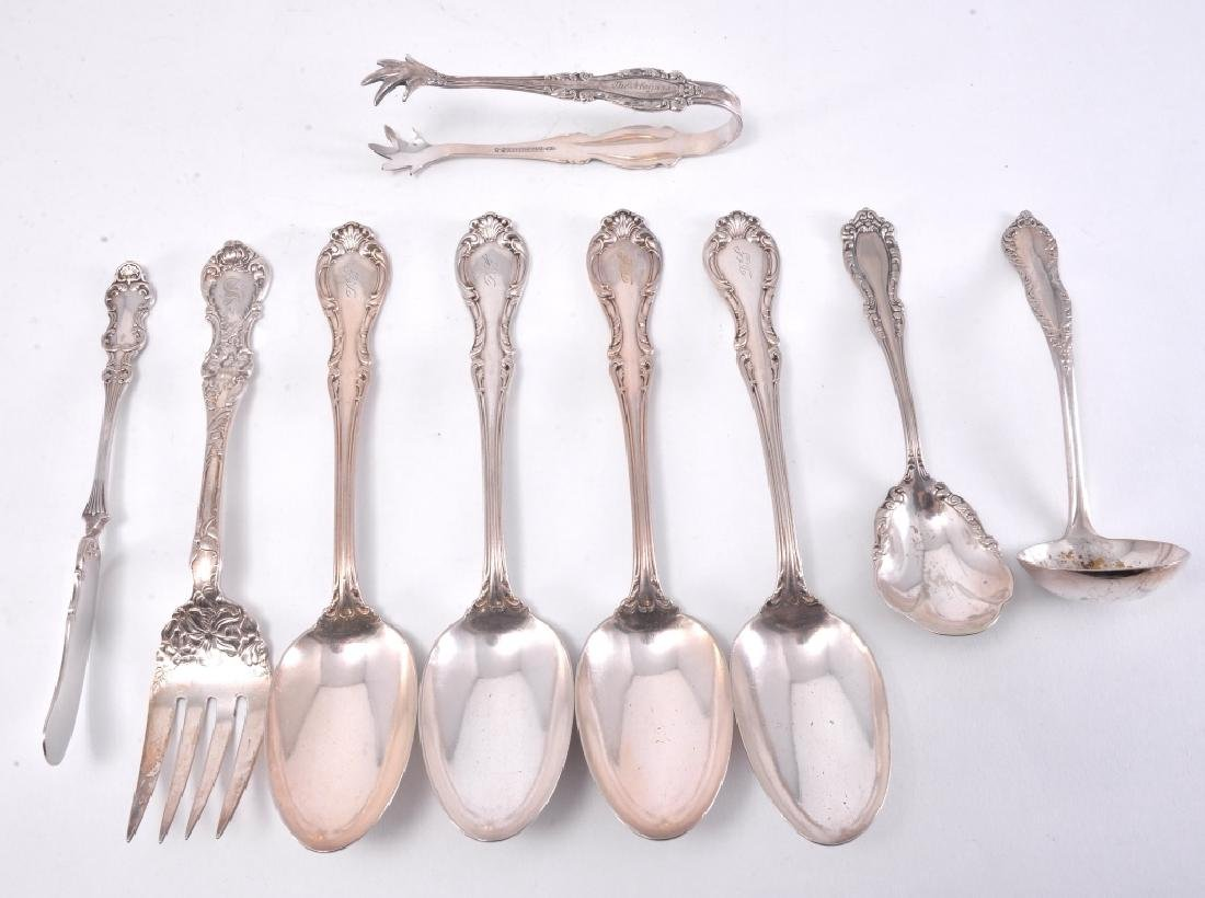 9 Silverplate Serving Pieces