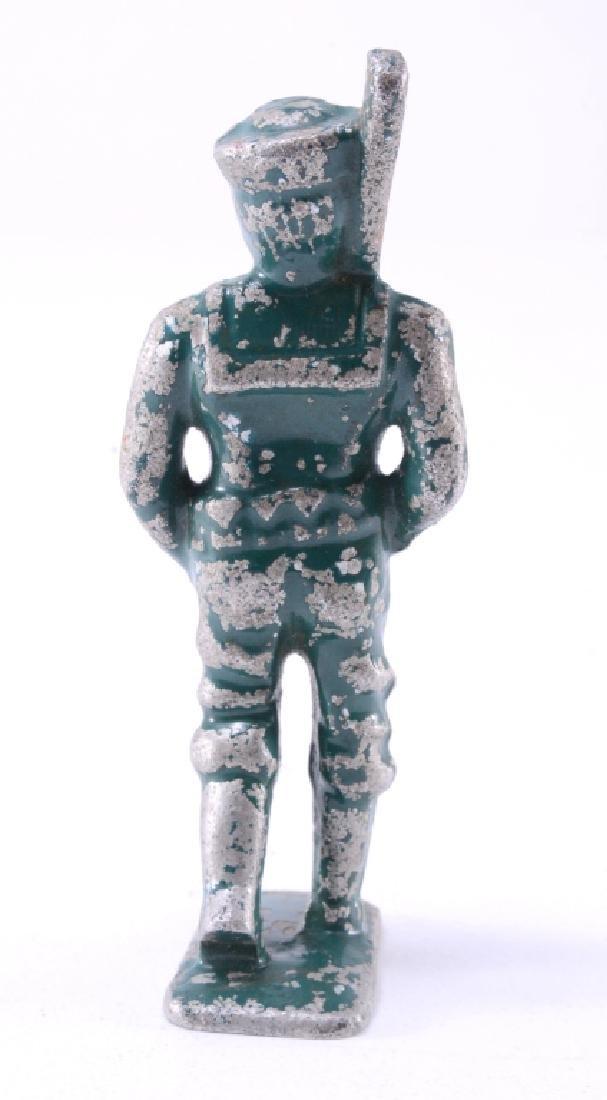 Metal Toy Soldier w/Original Paint - 3