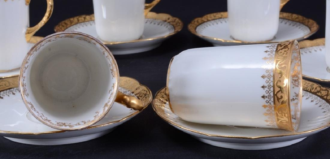 "Limoges ""W.G. & Co,"" Demitasse Cups & Saucers - 2"
