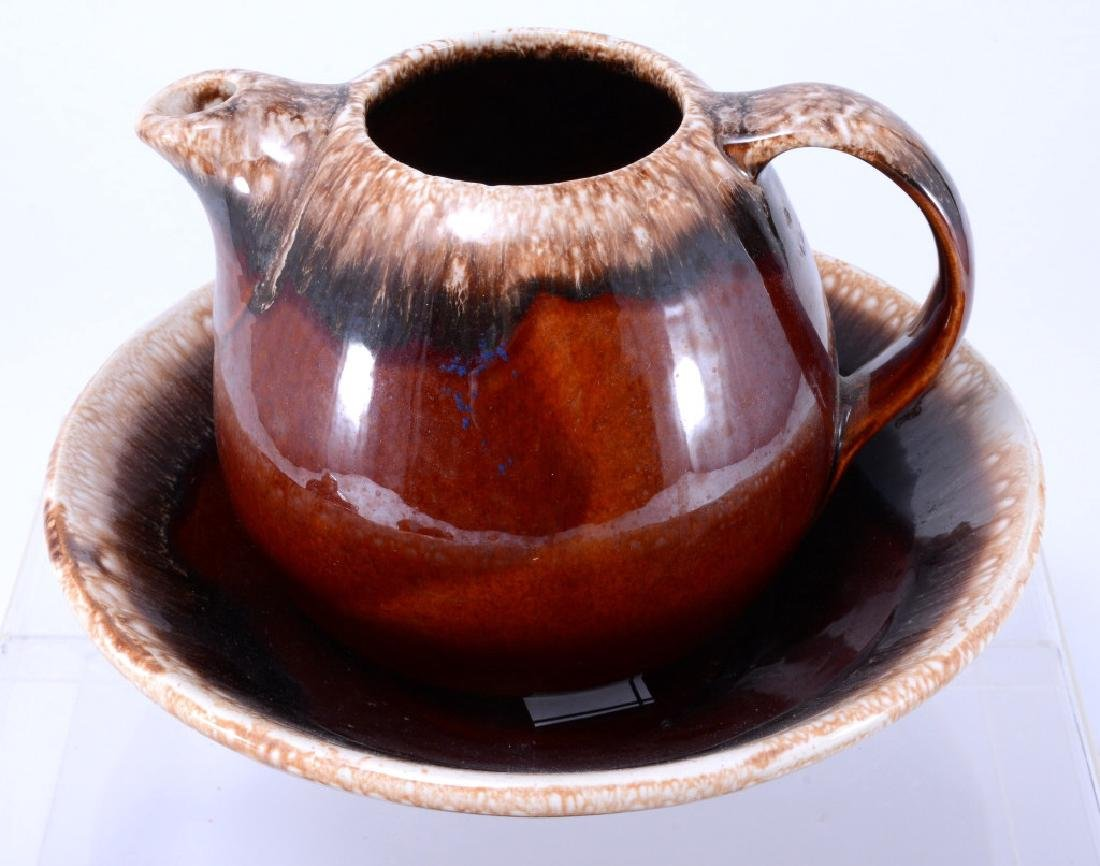 Hull Brown Drip Pitcher, Butter Dish & More - 2