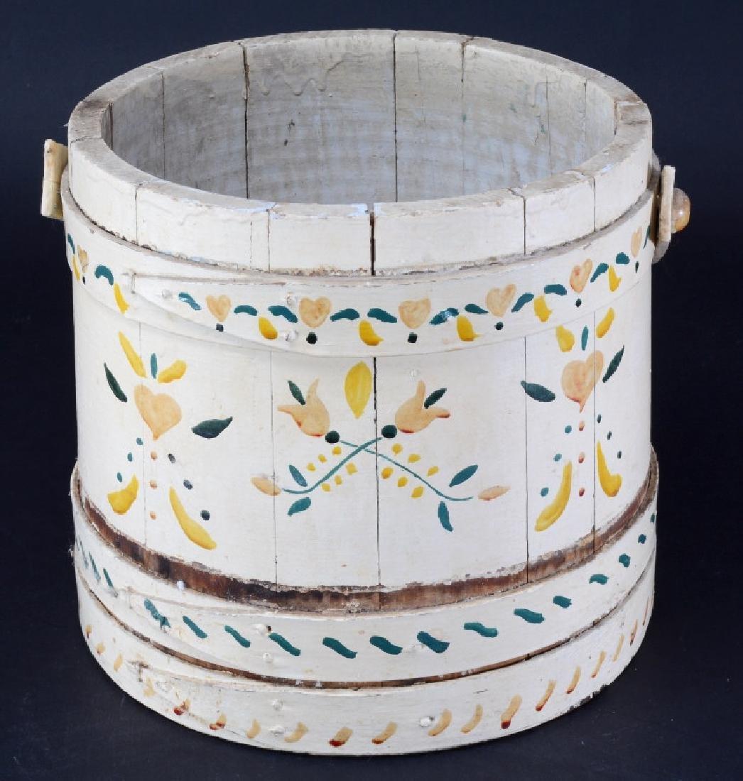 Vintage Wood Bucket