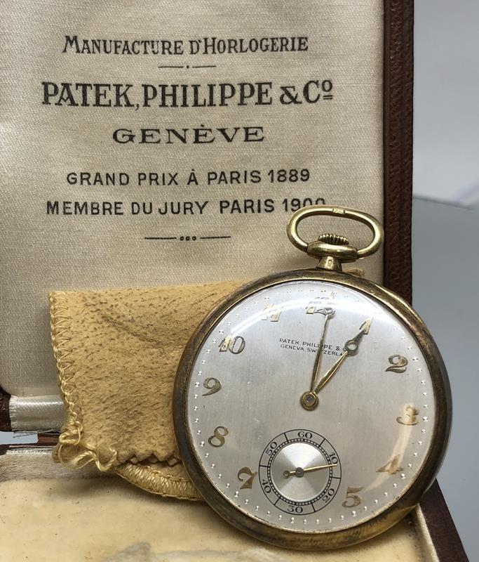 18K Patek, Philippe & Co. Pocket Watch