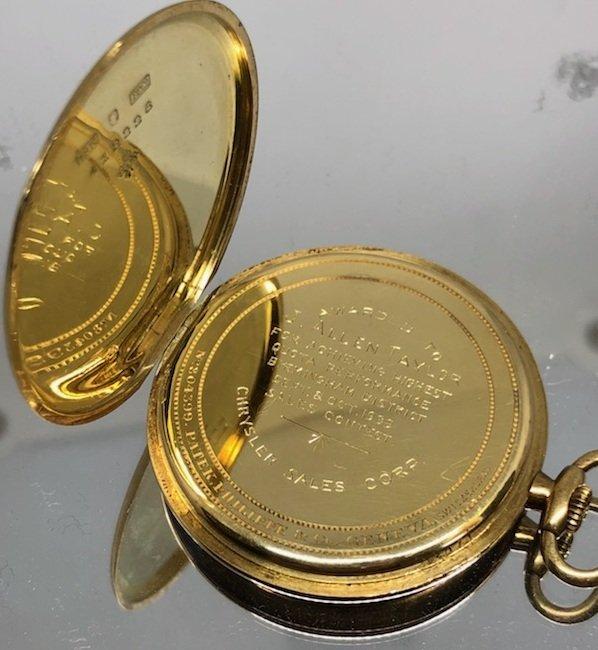 18K Patek, Philippe & Co. Pocket Watch - 3