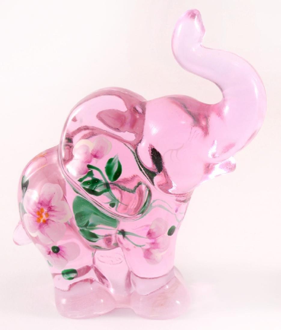 Fenton Lenox Glass Elephant Figurine