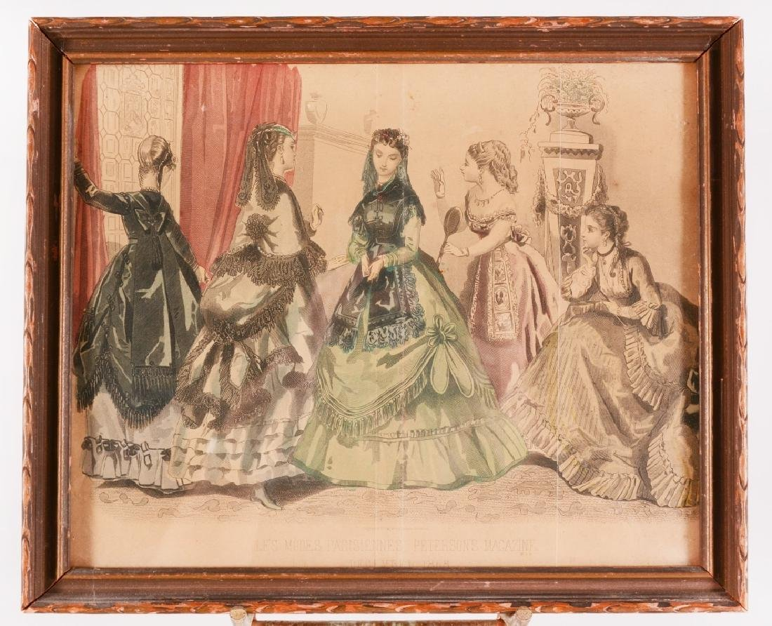 3 Framed Womens Fashions For 1861 - 5