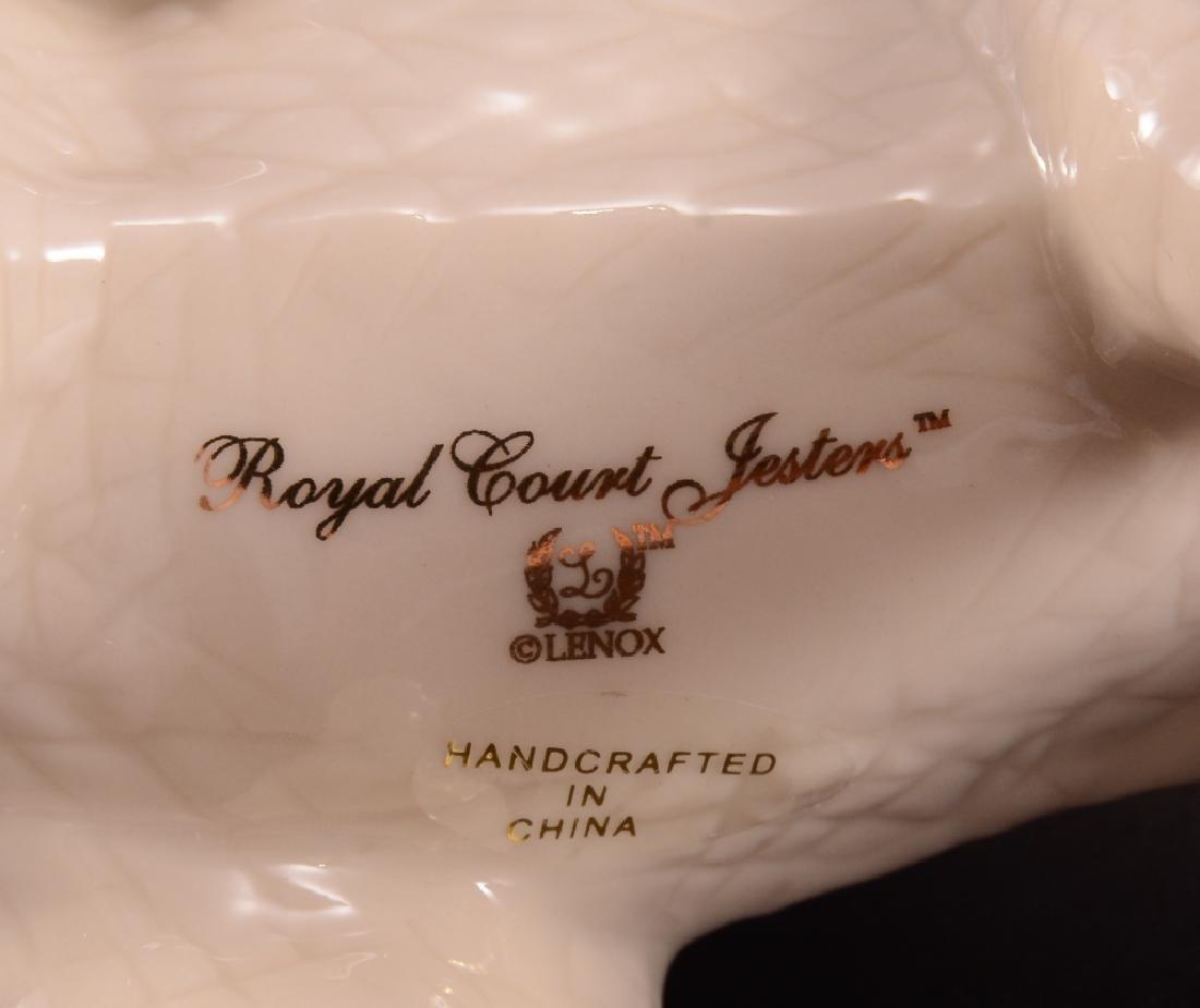"Lenox ""Royal Court Jesters"" Elephant Figurines - 5"