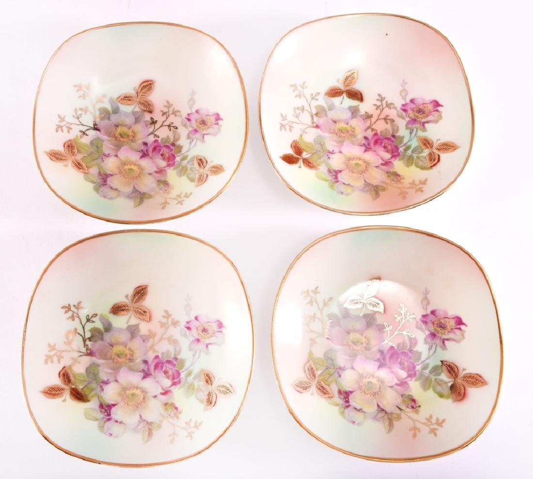 "4 Schumann ""Wild Rose"" Nut Dishes - 2"