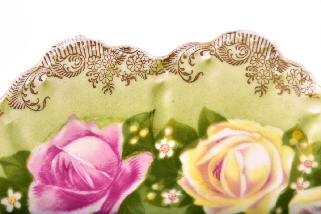 Yellow & Pink Ring of Roses Decorative Plate - 3