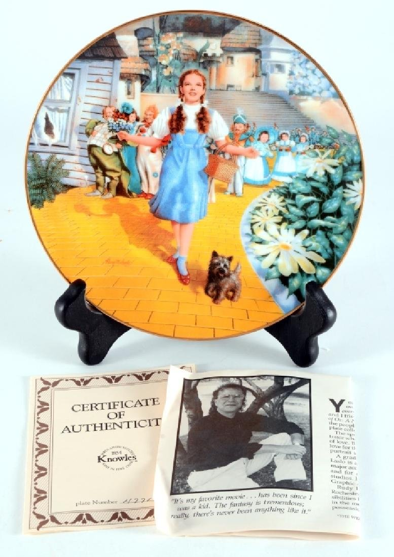 Knowles The Wizard Of Oz Collector's Plate