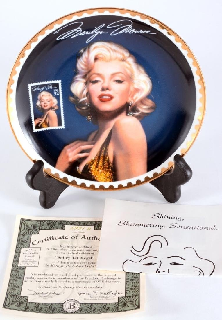 Bradford Exchange Marilyn Monroe Collector Plate