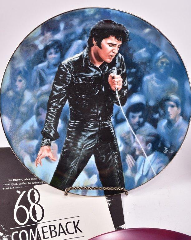5 Elvis Presley Collector's Plates - 2