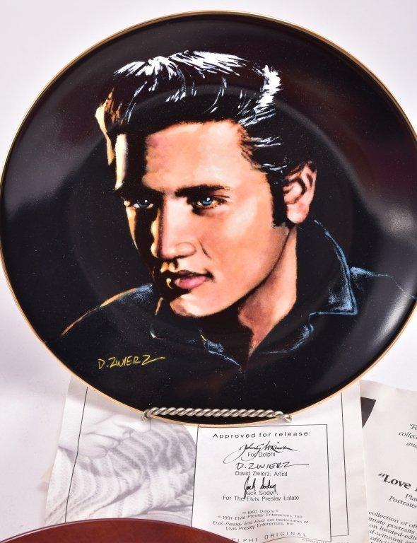 5 Elvis Presley Collector's Plates - 4