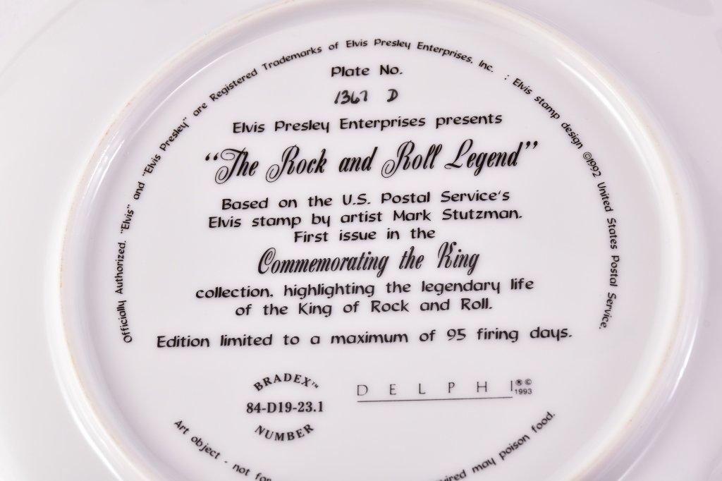5 Elvis Presley Collector's Plates - 6