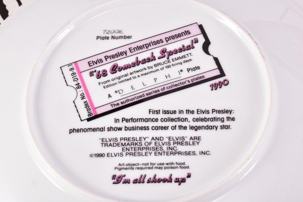 5 Elvis Presley Collector's Plates - 7
