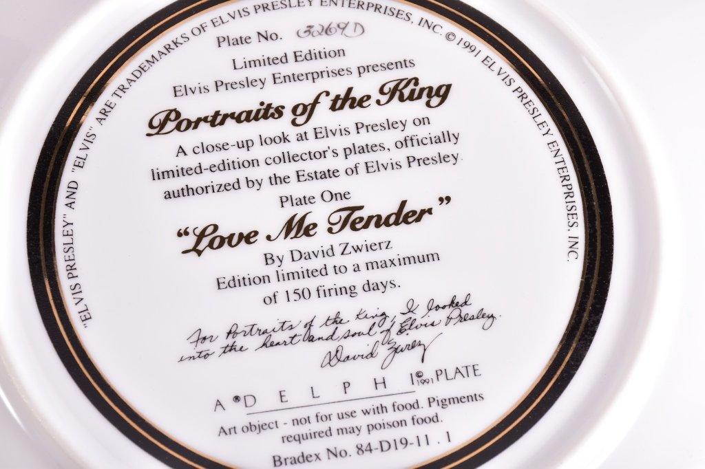 5 Elvis Presley Collector's Plates - 8