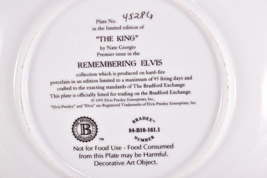 5 Elvis Presley Collector's Plates - 9