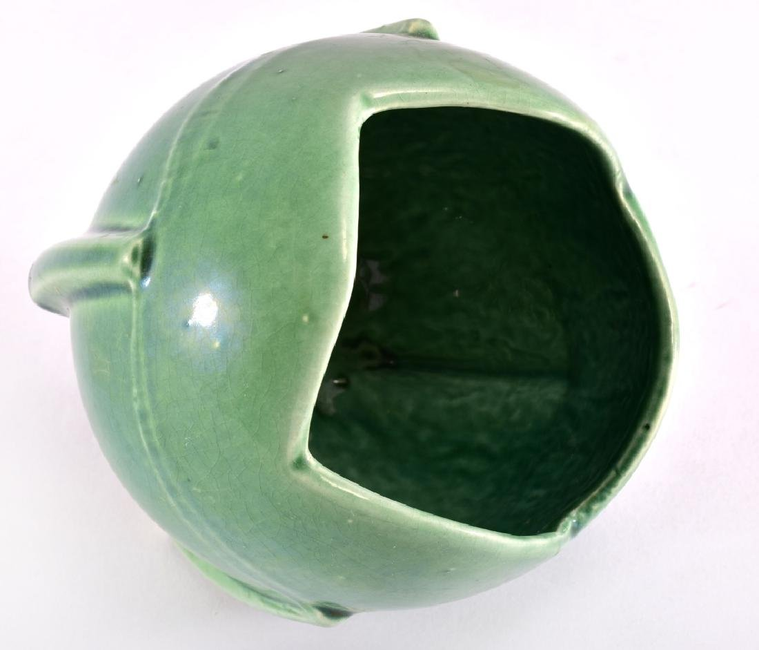 Nelson McCoy Green Tulip Ball Planter - 2