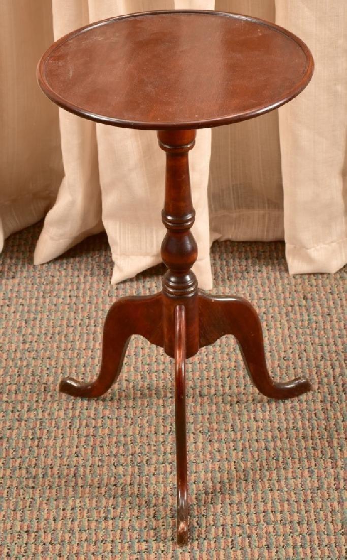 Vintage Mahogany Tripod Table