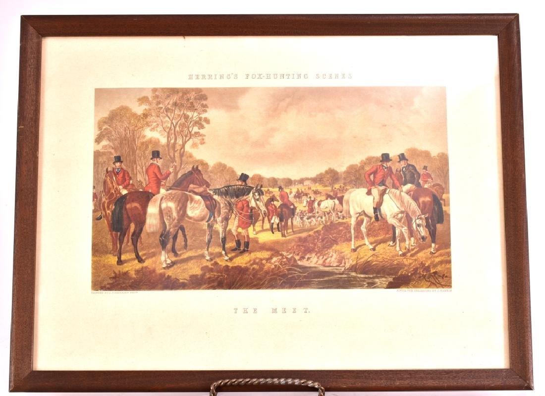 Herring's Fox Hunting Scenes Framed Artwork - 2