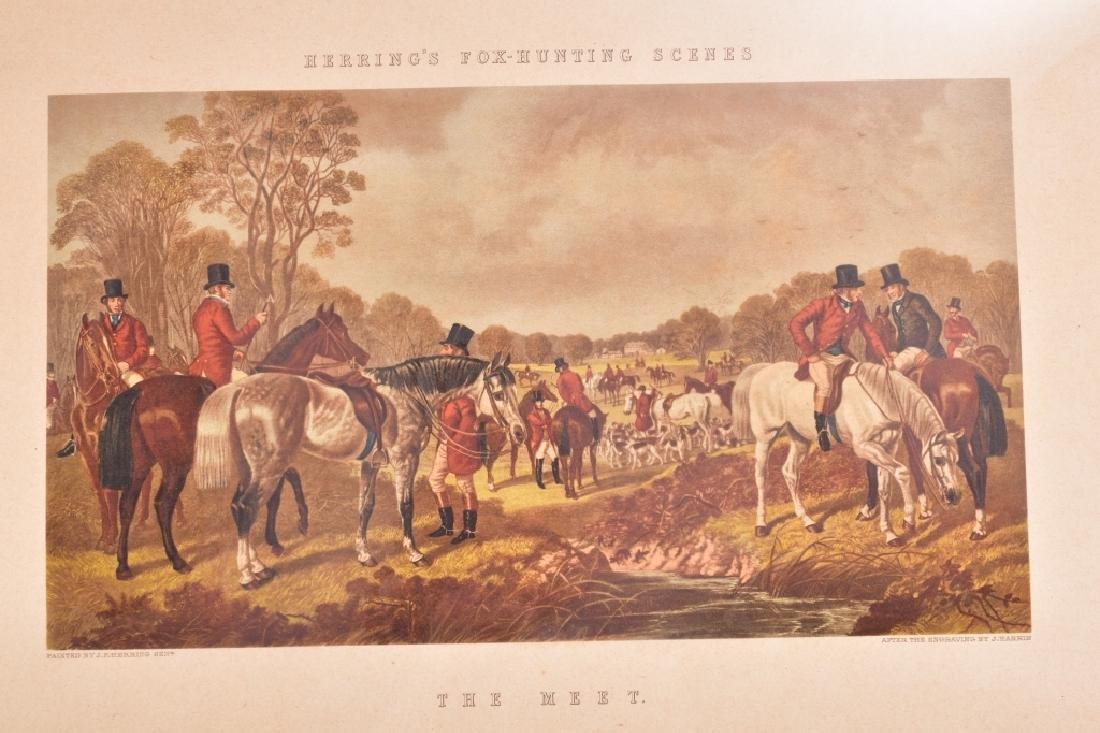 Herring's Fox Hunting Scenes Framed Artwork - 3
