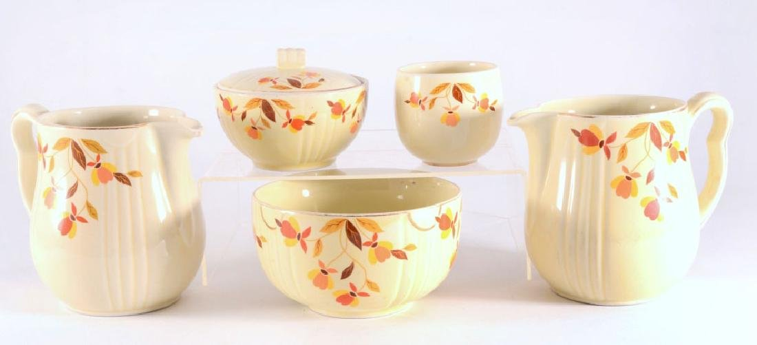 6 Pcs. Hall Autumn Leaf Dinnerware