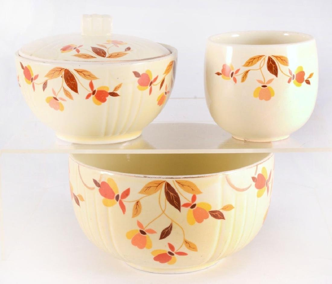 6 Pcs. Hall Autumn Leaf Dinnerware - 2