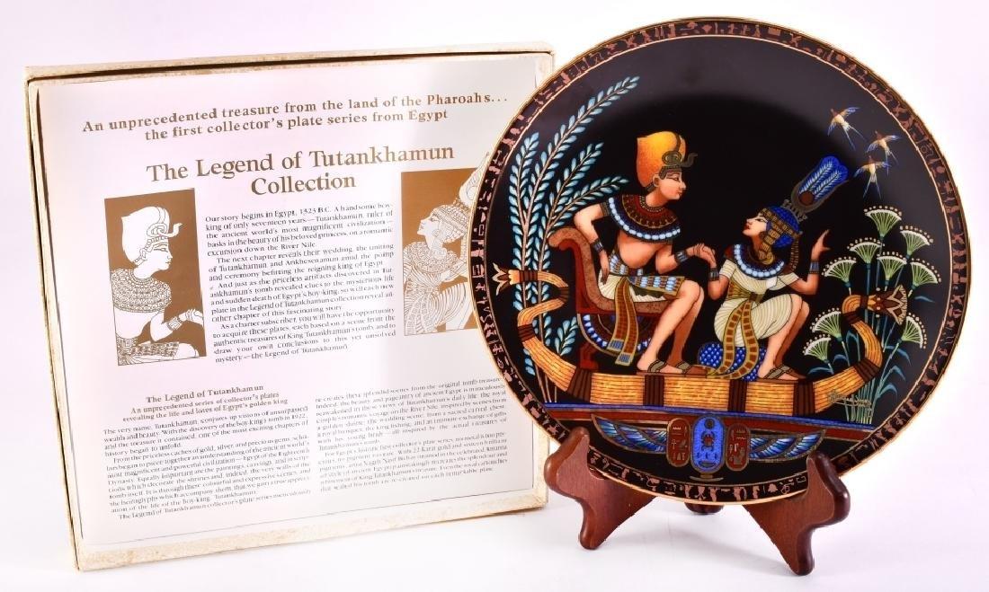 Osiris Porcelain The Legend Of Tutankhamun Plate - 2