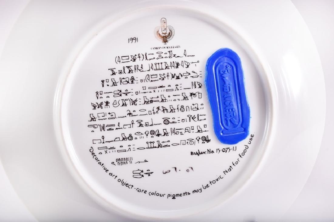 Osiris Porcelain The Legend Of Tutankhamun Plate - 3