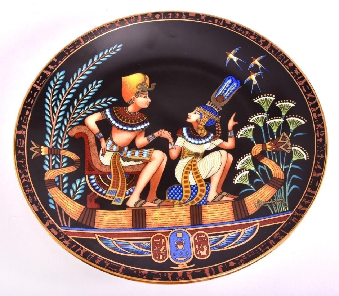 Osiris Porcelain The Legend Of Tutankhamun Plate - 4